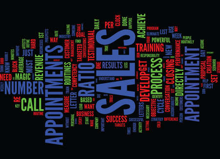 THE MOST IMPORTANT TO DO S OF ANY SUCCESSFUL SALESPERSON Text Background Word Cloud Concept Illustration