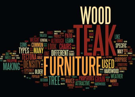 難しく木製テキスト背景単語クラウドの概念はより古い木  イラスト・ベクター素材