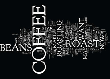 DE PERFECTE KOFFIE IS HIER Tekstachtergrond Word Cloud Concept Stock Illustratie