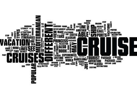 YIPPEE I SAID YES TO A CRUISE NOW WHERE SHOULD I GO AND WHY Text Background Word Cloud Concept Illustration
