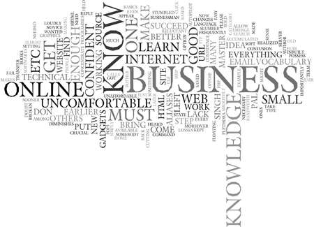YOU MUST LEARN FOR YOUR BUSINESS TO EARN Text Background Word Cloud Concept