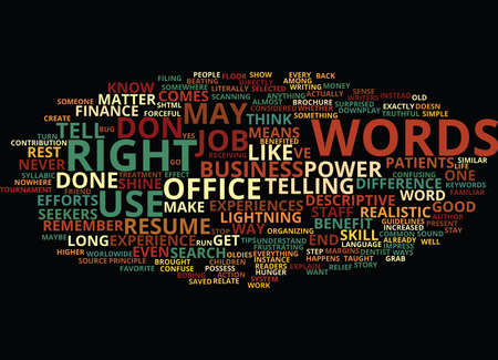 THE POWER OF WORDS HOW THE RIGHT LANGUAGE CAN MAKE YOU SHINE Text Background Word Cloud Concept