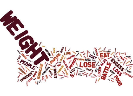 wherever: THE EASY DIET TO HELP YOU TO LOSE THOSE EXCESS POUNDS Text Background Word Cloud Concept