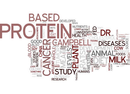 THE PLANT BASED DIET IS MEAT GOOD FOR YOU Text Background Word Cloud Concept