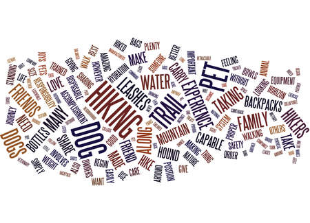 THE OUTDOOR HOUND Text Background Word Cloud Concept