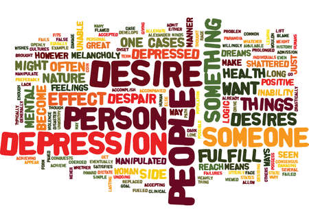 THE PATH TO DESPAIR IS PAVED WITH SHATTERED Text Background Word Cloud Concept Illustration