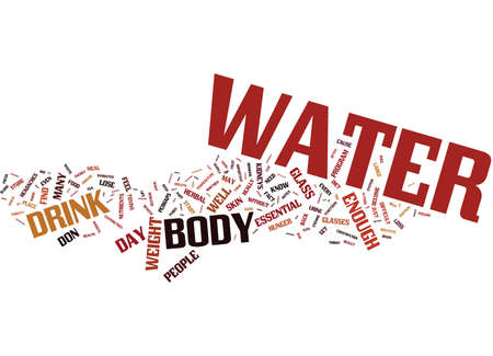THE MOST UNDER RATED ASPECT OF WEIGHTLOSS Text Background Word Cloud Concept