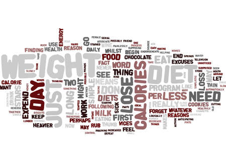 YOU DON T NEED TO GO ON A DIET TO LOSE WEIGHT Text Background Word Cloud Concept