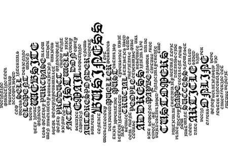 成功テキスト背景単語雲概念に最も重要な要素  イラスト・ベクター素材