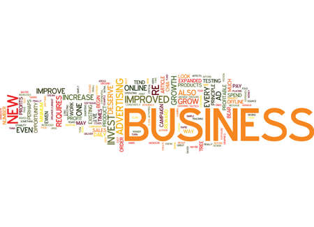 requires: THE MAGIC OF EXPONENTIAL BUSINESS GROWTH Text Background Word Cloud Concept