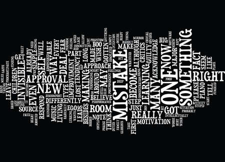 YOU MADE A MISTAKE WAY TO GO Text Background Word Cloud Concept