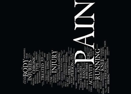 THE PAIN FACTOR Text Background Word Cloud Concept