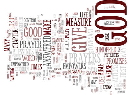 YOU ARE EMPOWERED BY GOD Text Background Word Cloud Concept