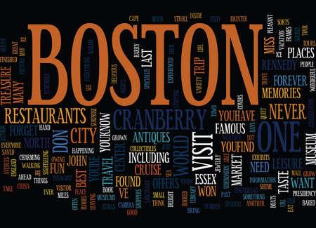 너는 LL 배경을 영원히 계속할 보스톤의 기억을 가지고있다. 단어 구름 개념