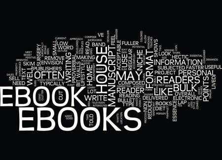 THE EBOOK SLIM DOWN Text Background Word Cloud Concept