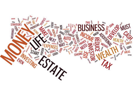 THE PERSON WITH THE MOST MONEY WINS Text Background Word Cloud Concept