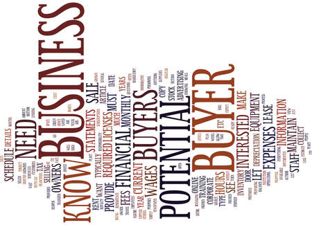 THE INFORMATIVE SELLER WHAT YOUR BUYERS NEED TO KNOW Text Background Word Cloud Concept
