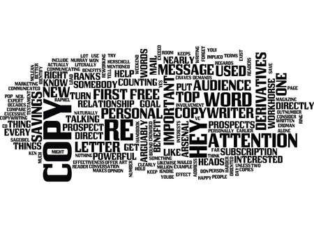 THE ONE WORD EVERY PROSPECT CRAVES Text Background Word Cloud Concept