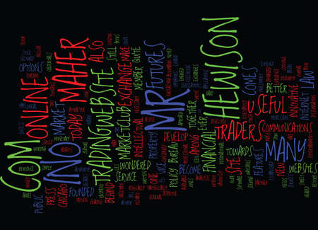 THE MEN BEHIND INOCOM Text Background Word Cloud Concept Ilustração