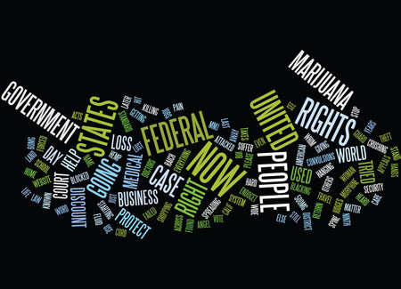THE LOSS OF RIGHTS IN THE UNITED STATES Text Background Word Cloud Concept