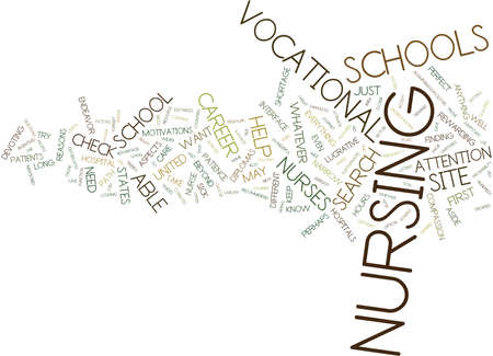 THE NURSE IS IN Text Background Word Cloud Concept