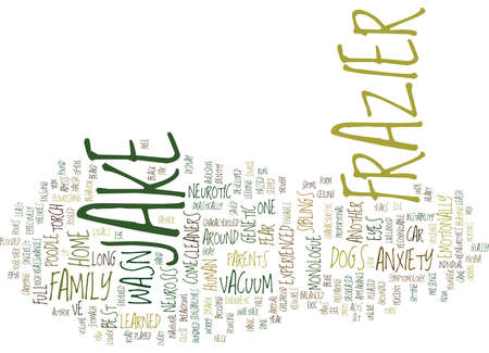 THE NEUROTIC DOGS Text Background Word Cloud Concept