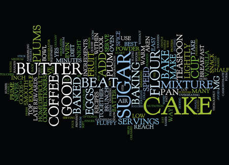 ve: YES YOU CAN BAKE IT Text Background Word Cloud Concept Illustration