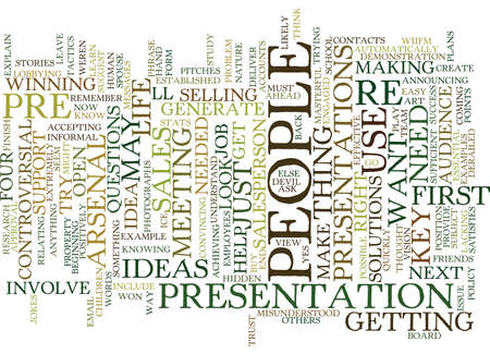 YOU ARE A SALESPERSON IN YOUR LIFE Text Background Word Cloud Concept