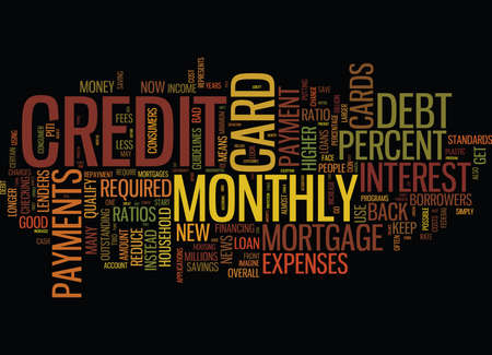 checking account: THE PERILS OF PLASTIC Text Background Word Cloud Concept