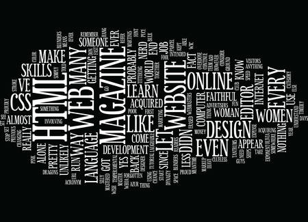 THE OTHER ACRONYM FOR HTML HOW TO MAKE LAUGHS Text Background Word Cloud Concept