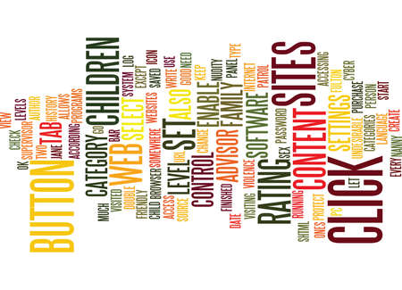 Lets Protect Our Children Text Background Word Cloud Concept Illustration