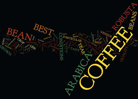 BEST COFFEE MAKERS Text Background word cloud concept
