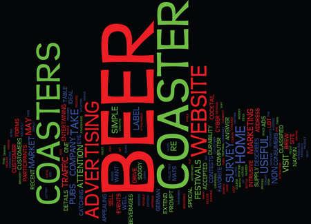 ビール文化テキストの背景単語雲概念