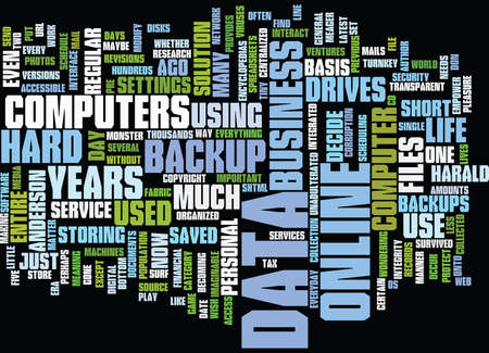 あなたのデータは生活テキスト背景単語雲・ コンセプトです。
