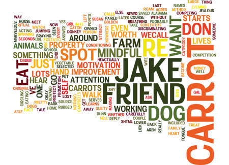LET S SAY YOU RE A DOG ARE YOU SO COMPETITIVE YOU D EAT A CARROT Text Background Word Cloud Concept Illusztráció