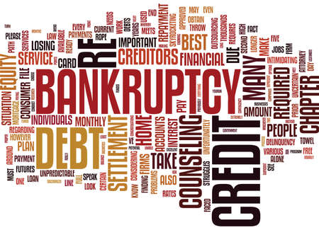 YOUR DEBT SHOULD YOU CONSOLIDATE OR ELIMINATE Text Background Word Cloud Concept Illustration