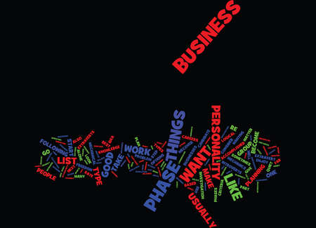 YOUR OWN BUSINESS Text Background Word Cloud Concept