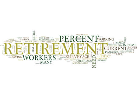 YOUR RETIREMENT HOPES FILLED WITH HOLES Text Background Word Cloud Concept