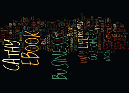 LIFE EXPERIENCE IN AN EBOOK Text Background Word Cloud Concept