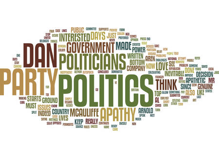 GOVERNMENT APATHY A DIFFERENT VIEW Text Background Word Cloud Concept
