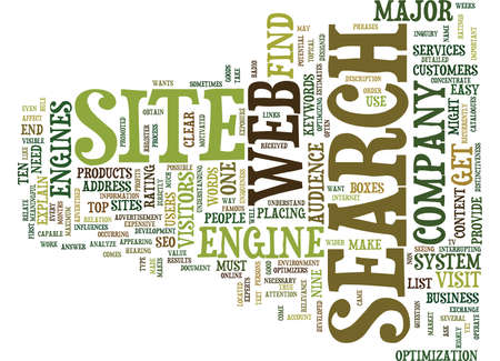 YOUR SITE WANTS TO WORK FOR YOU Text Background Word Cloud Concept