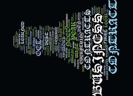 WETTELIJKHEDEN CONTRACTS HET NIET SO FUN STUFF Tekst Achtergrond Word Cloud Concept