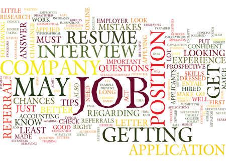 YOUR JOB IS TO FIND A JOB DLVY NICHEBLOWERCOM Text Background Word Cloud Concept Ilustração