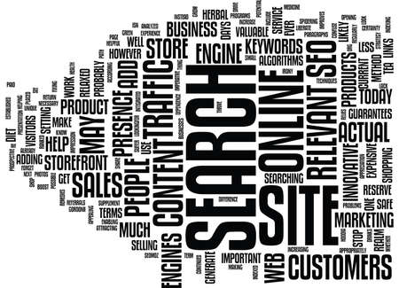 YOUR ONLINE BUSINESS CAN GROW WITH SEO Text Background Word Cloud Concept