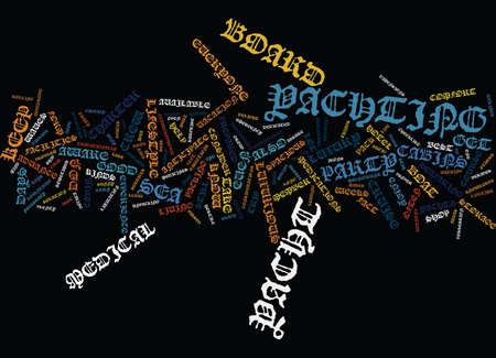 LIFE AT SEA Text Background Word Cloud Concept