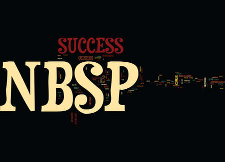 YOUR SUCCESS Text Background Word Cloud Concept