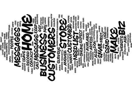 YOUR HOME BIZ STORE Text Background Word Cloud Concept