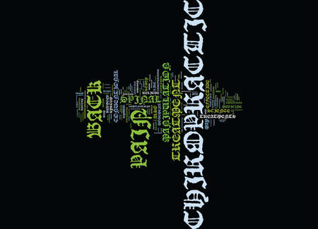 Z CHIROPRACTIC BACK PAIN Text Background Word Cloud Concept