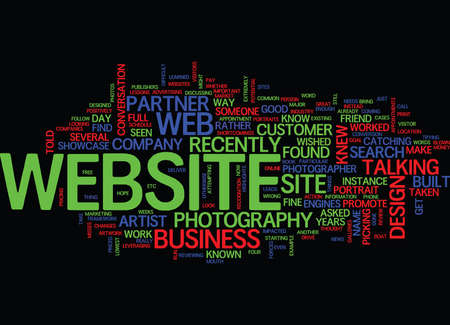 LESSONS LEARNED FROM A WEBSITE DESIGN GONE WRONG Text Background Word Cloud Concept