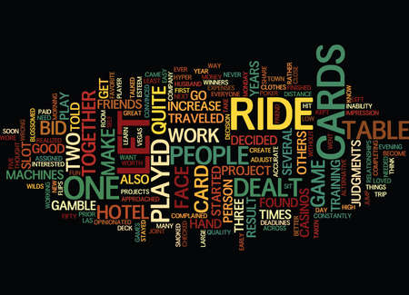 LET IT RIDE Text Background Word Cloud Concept 向量圖像